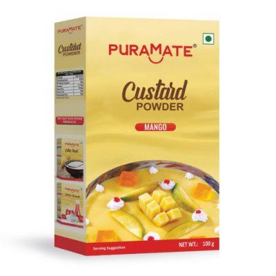 Custard Powder Mango Puramate