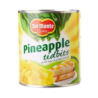 Pineapple Tidbits Del Monte