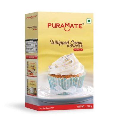 Whipped cream powder Vanilla Puramate