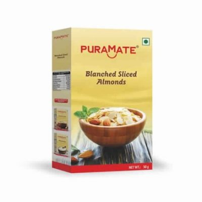 Blanched Sliced Almonds Puramate